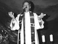Pfarrer Uwe Seidel war bekannt durch den Kirchentag.