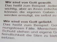 Position für den Reli-Unterricht: Die Landessynode bezog Stellung.