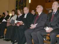 Im Talar Liturg des Gottesdienstes Superintendet Klaus Schneidewind