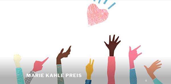 Die Grafik für den Marie-Kahle-Preis stammt von der Künstlerin Elena Skoreyko Wagner.