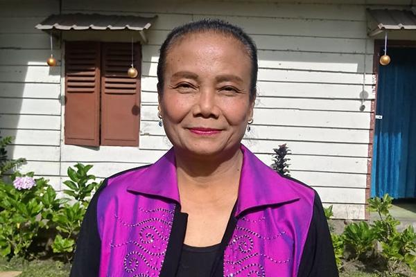 Debora Purada Sinaga, Leiterin der Diakonie der lutherischen Kirche Huria Kristen Batak Protestan in Indonesien.